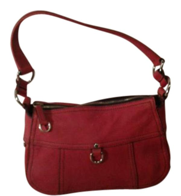 Item - Made In Italy Cinnabar Red Leather Hobo Bag