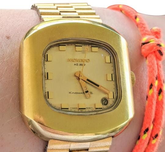 Preload https://item2.tradesy.com/images/movado-gold-pre-quartz-kingmatic-s-highbeat-with-bracelet-watch-21549671-0-4.jpg?width=440&height=440
