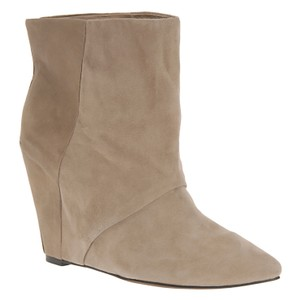 ALDO Ankle Suede Wedge Natural Boots