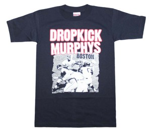 Dropkick Murphy The Treasured Hippie Music Boho Band Memorabilia T Shirt Black