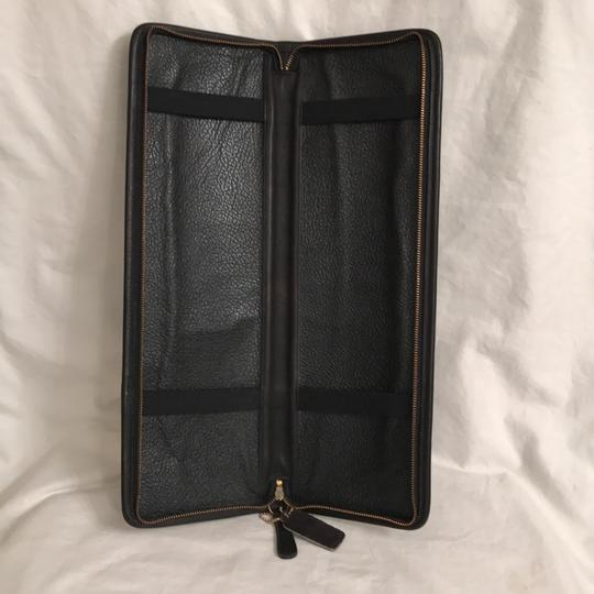 Coach Men's Vintage Leather Travel Tie Case
