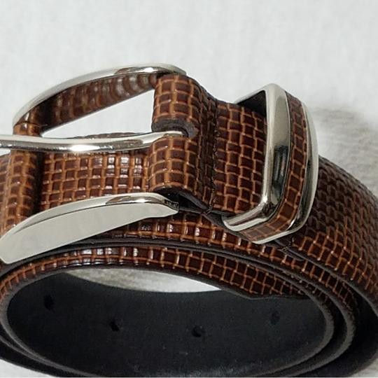 Lejon Tulliani Lejon Tulliana Brown Genuine Leather Belt