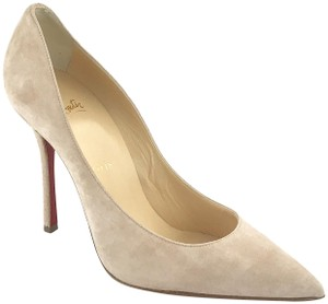 Christian Louboutin Light Tan Pumps