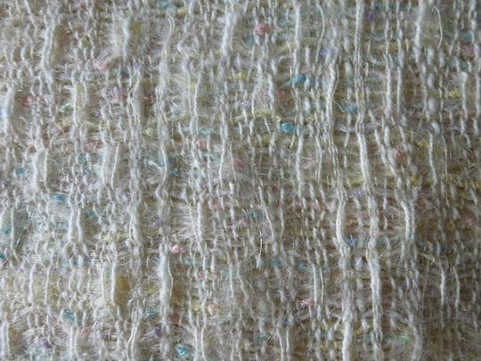 Other Womens Vintage Pastel Colors Handwoven Wool Shawl or Large Scarf Country Ell Image 2