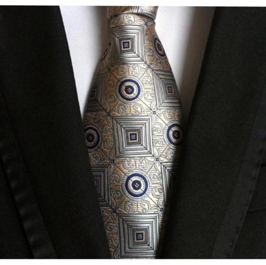 Preload https://item2.tradesy.com/images/grey-new-arrival-paisley-tie-for-men-pyramid-figure-21550141-0-1.jpg?width=440&height=440