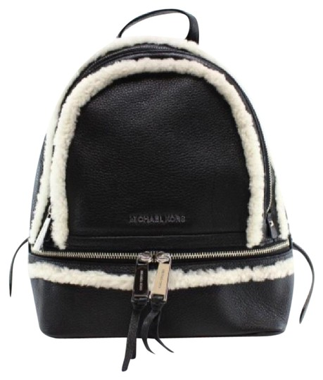 Preload https://item2.tradesy.com/images/michael-kors-rhea-black-leather-backpack-21550146-0-1.jpg?width=440&height=440