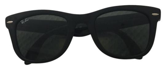 Preload https://item2.tradesy.com/images/ray-ban-black-not-much-wear-sunglasses-21550246-0-1.jpg?width=440&height=440
