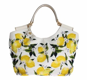 Dolce&Gabbana Lemon Tote in White