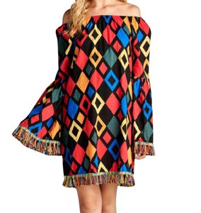 VELZERA short dress Geometric on Tradesy