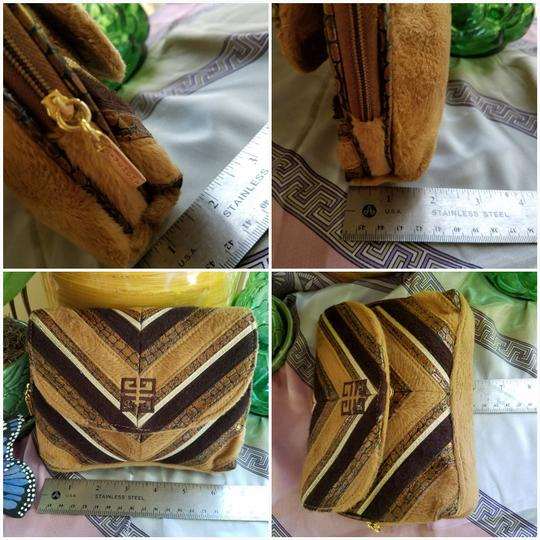 Givenchy Shoes Anaconda Scarf Tote Wristlet in Yellow
