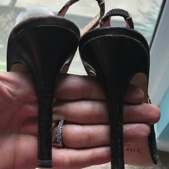 Kate Spade Slingback Classic Office Dressy Chic Brown Pumps