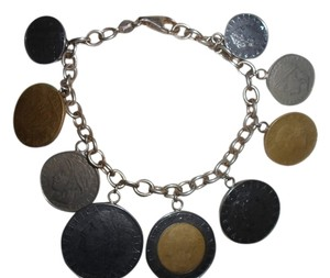Other AUTHENTIC ITALIAN LIRE CHARM BRACELET
