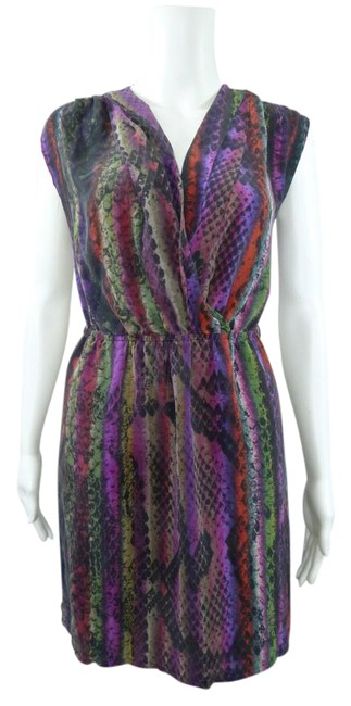Preload https://item4.tradesy.com/images/multicolor-silk-short-workoffice-dress-size-2-xs-21550648-0-1.jpg?width=400&height=650
