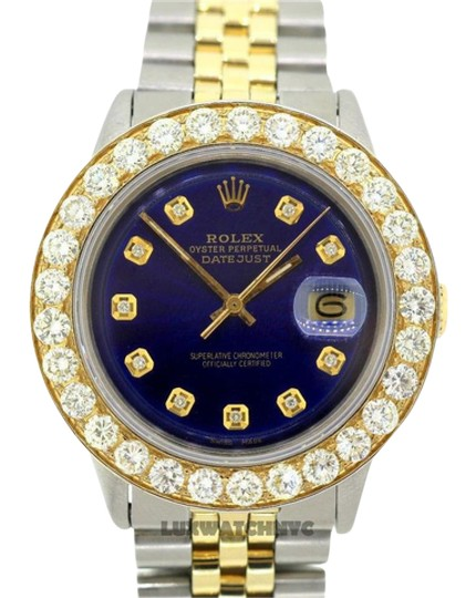 Preload https://img-static.tradesy.com/item/21550688/rolex-6ct-36mm-men-s-datejust-2-tone-w-box-and-appraisal-watch-0-1-540-540.jpg