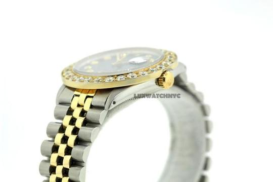 Rolex 6CT 36MM MEN'S ROLEX DATEJUST 2-TONE WATCH W/ ROLEX BOX & APPRAISAL