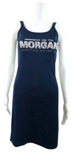 Morgan de Toi short dress Blue on Tradesy
