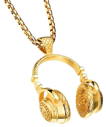 Preload https://img-static.tradesy.com/item/21550866/gold-or-black-choose-color-men-s-stainless-steel-headphones-necklace-0-1-540-540.jpg