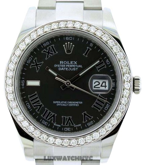 Preload https://item1.tradesy.com/images/rolex-stainless-stee-250ct-41mm-men-s-datejust-ii-w-box-and-appraisal-watch-21550895-0-2.jpg?width=440&height=440