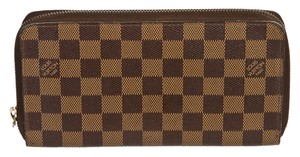 Louis Vuitton Louis Vuitton Brown Damier Ebene Zippy Organizer Wallet