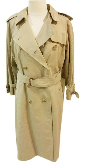 Preload https://item1.tradesy.com/images/burberry-tan-beige-removable-double-layer-cotton-wool-trench-coat-size-10-m-21551095-0-1.jpg?width=400&height=650