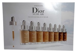 Dior TWO Dior Nude Air Serum Foundation With Sunscreen-- Travel Size Pacquettes