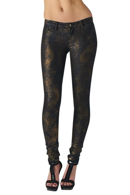 Preload https://img-static.tradesy.com/item/21551236/black-gold-and-blue-coated-metallic-hologram-bnwot-skinny-jeans-size-27-4-s-0-1-650-650.jpg