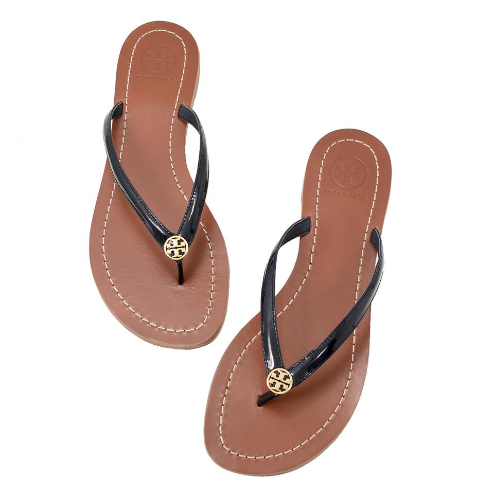 a887e0344ec Tory Burch 11168608 190041062423 Bright Navy Sandals Image 5. 123456