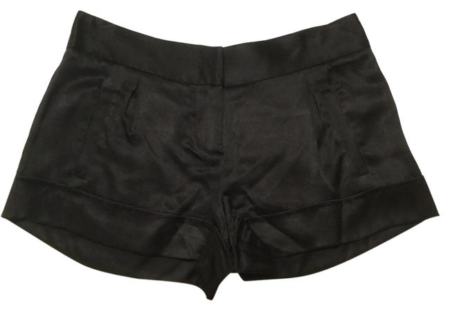 Preload https://item1.tradesy.com/images/twelfth-st-by-cynthia-vincent-black-silk-cuffed-shorts-size-2-xs-26-21551335-0-1.jpg?width=400&height=650