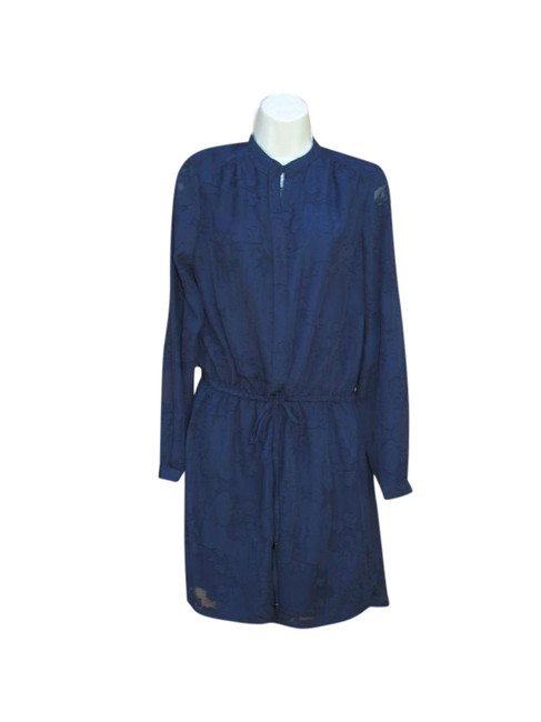 Preload https://item2.tradesy.com/images/katherine-barclay-blue-burnout-drawstring-mid-length-workoffice-dress-size-6-s-21551376-0-1.jpg?width=400&height=650
