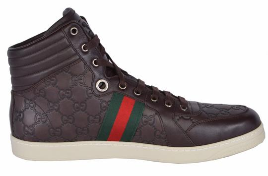 Gucci Men's Sneakers High Top Brown Athletic