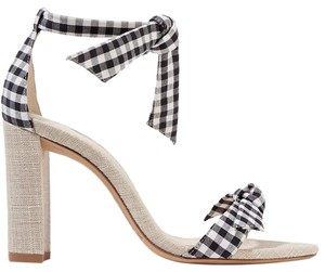 Alexandre Birman white and black Sandals