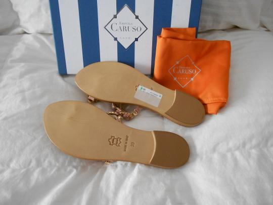 Emanuela Caruso Lovely Design Color Made In Italy Rosa Sandals