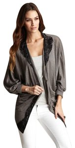 Patterson J. Kincaid Lace Wrap Casual Gray Jacket
