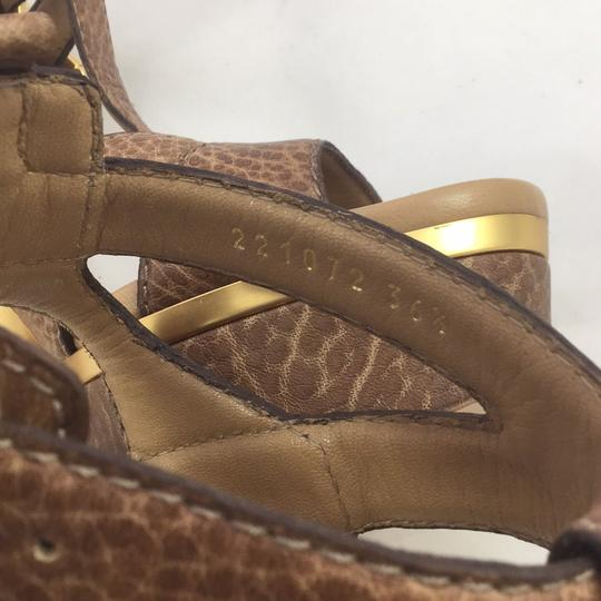 Gucci Lifford Sandal brown Platforms