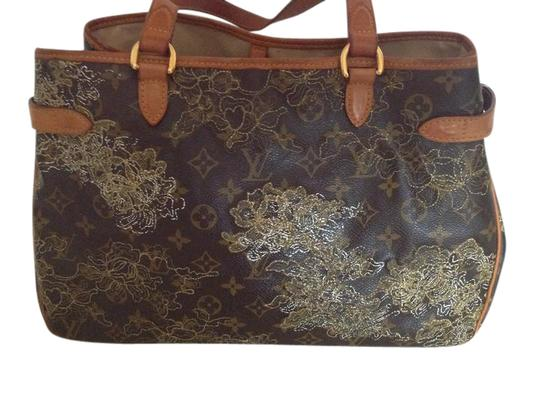Preload https://img-static.tradesy.com/item/21551564/louis-vuitton-batignolles-rare-date-code-du1017-caramel-leather-w-gold-lace-embroidery-tote-0-1-540-540.jpg