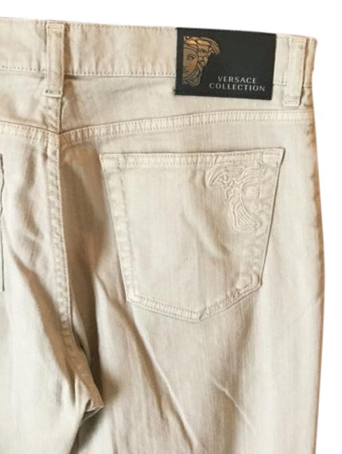 Preload https://img-static.tradesy.com/item/21551636/versace-collection-beige-light-wash-new-brown-boot-cut-jeans-size-33-10-m-0-1-650-650.jpg