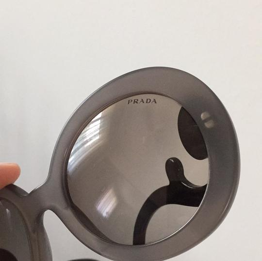 Prada Prada Baroque sunglasses matte gray and black
