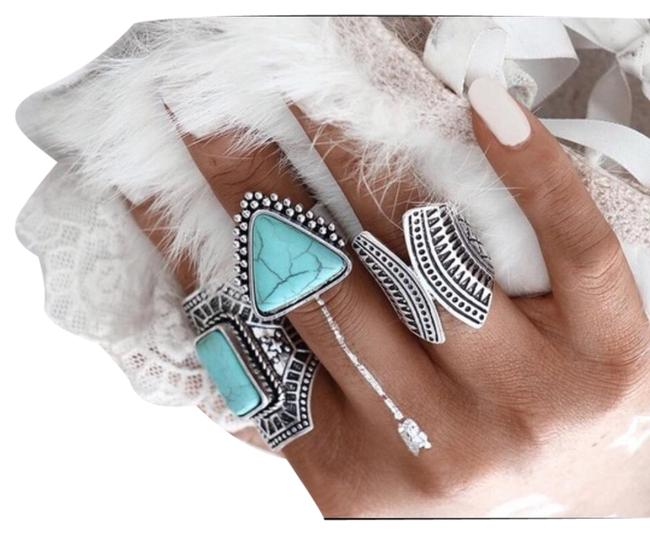 Item - 3 Pcs Gypsy Vintage Party Set Ring