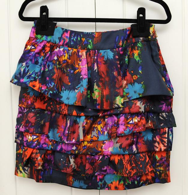 Anthropologie High-waisted Chic Skirt multicolors