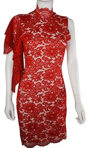 Lisa Nieves Lace Prom Formal Stretch Dress
