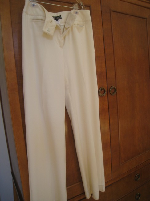 Thalian Straight Pants Off White