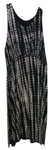 Black, Gray & White Maxi Dress by Yours Clothing