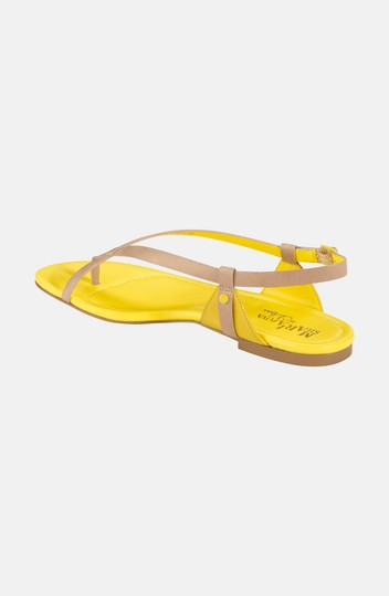 Cole Haan Leather Nike Air Flat Sandstone Sandals