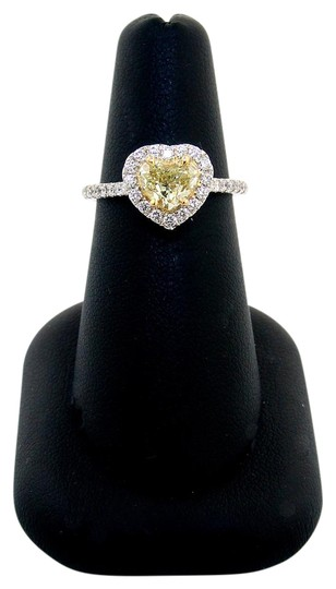 Preload https://img-static.tradesy.com/item/21551998/abc-jewelry-fancy-yellow-color-si2-clarity-heart-shaped-diamond-with-round-accents-117tcw-ring-0-1-540-540.jpg