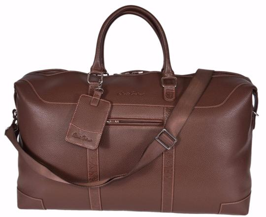 Preload https://item1.tradesy.com/images/robert-graham-new-sammy-faux-leather-duffle-brown-polyurethane-weekendtravel-bag-21552000-0-0.jpg?width=440&height=440
