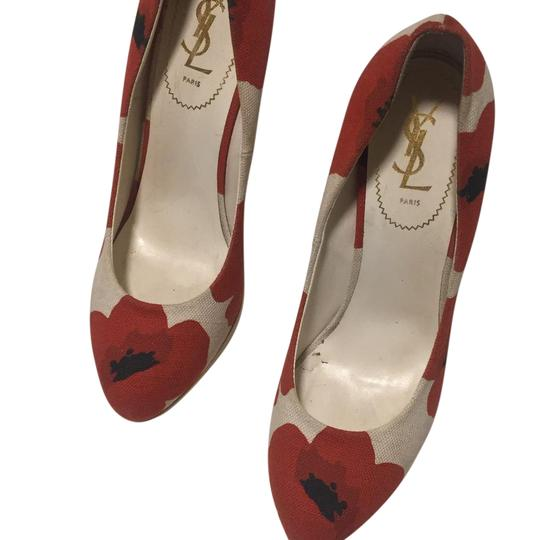 Preload https://item1.tradesy.com/images/saint-laurent-cream-with-red-poppy-print-yves-maryna-canvas-wooden-wedges-size-us-11-regular-m-b-21552085-0-1.jpg?width=440&height=440