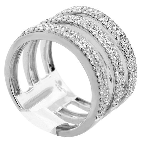 Preload https://img-static.tradesy.com/item/21552089/abc-jewelry-g-color-vs2-clarity-3-near-1ct-fashion-diamond-band-in-18kt-white-gold-ring-0-1-540-540.jpg