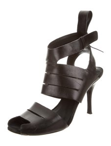 ALEXANDER WANG Ankle Strap Heel black Sandals