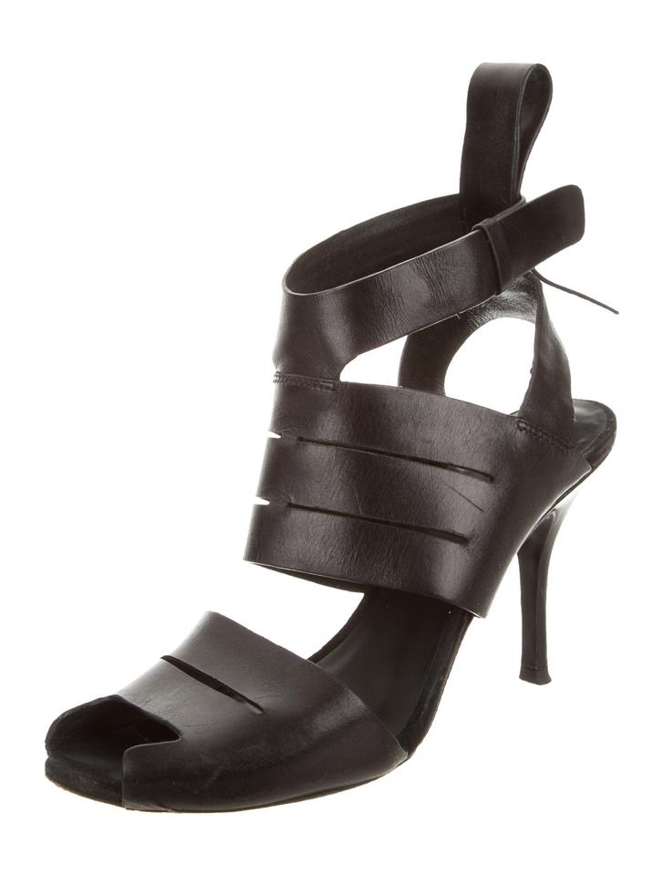 Alexander Wang Black Black Wang Ankle Strap Sandals 0f9064