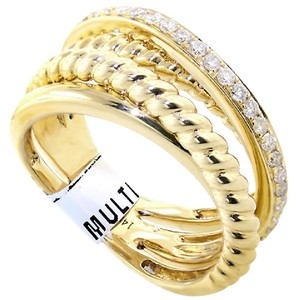 ABC Jewelry Diamond fashion band .31tcw g color si1 clarity